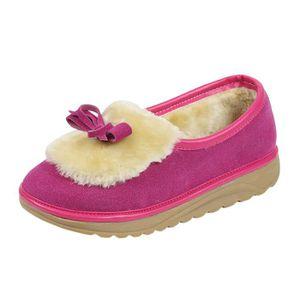 BOTTE Femmes Flats chaudes Chaussures Femme Automne Hive