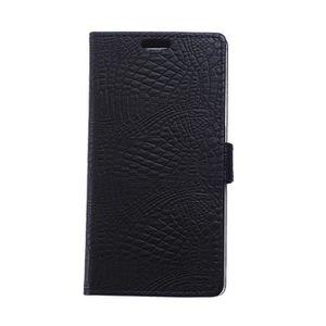 COQUE - HOUSSE - ÉTUI Etui Coque Samsung Galaxy A6 2018 - J8 - Noir -ASK