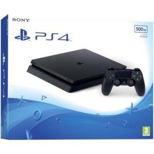 CONSOLE PS4 Console PS4 500 Go + Extension Garantie 3 ANS