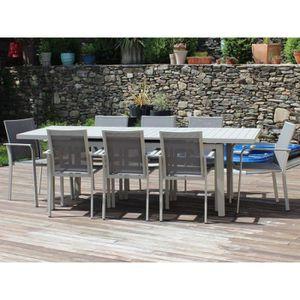 Salon de jardin CORDOBA - fauteuils Textilène® - Couleur ...