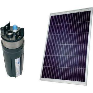 POMPE ARROSAGE Kit pompe solaire 80W avec pompe Shurflo 9325, deb