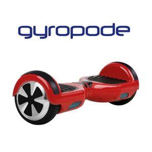 HOVERBOARD Gyropode Scooter Electrique 2 roues - Rouge