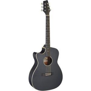 GUITARE Guitare auditorium électro-acoustique avec pan cou