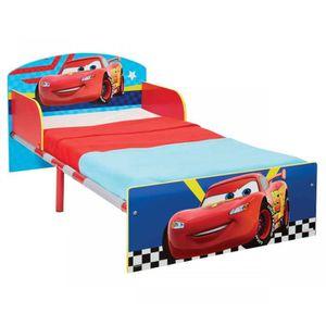 STRUCTURE DE LIT CARS Lit pour Enfants pour Matelas 140cm x 70 cm