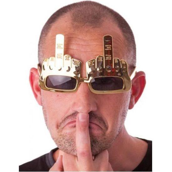 Doigt D Honneur Photo lunettes doigt d'honneur - adulte - achat / vente lunettes de soleil