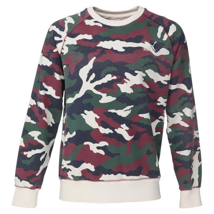 De Blanc Rouge Et Homme Vert Shirt Achat Sweat Vente Puma qfzw6aUnx