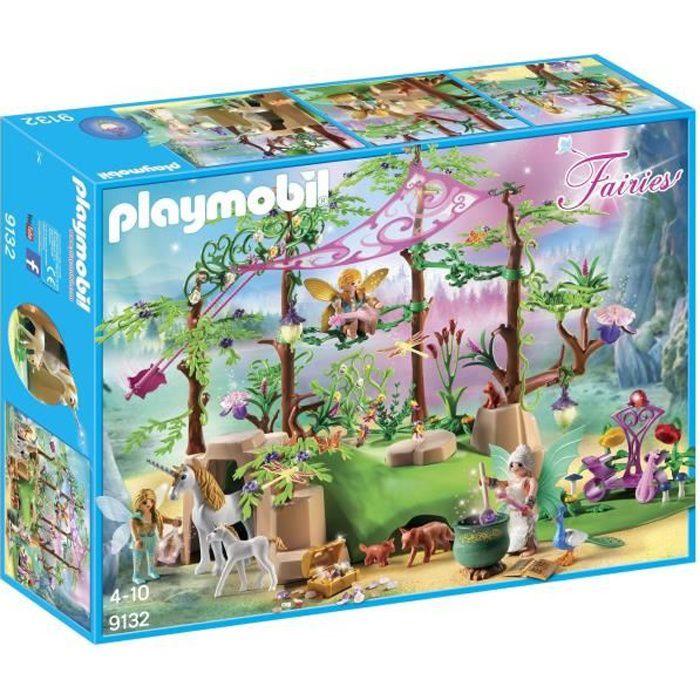 UNIVERS MINIATURE PLAYMOBIL 9132 - Fairies - Forêt Enchantée