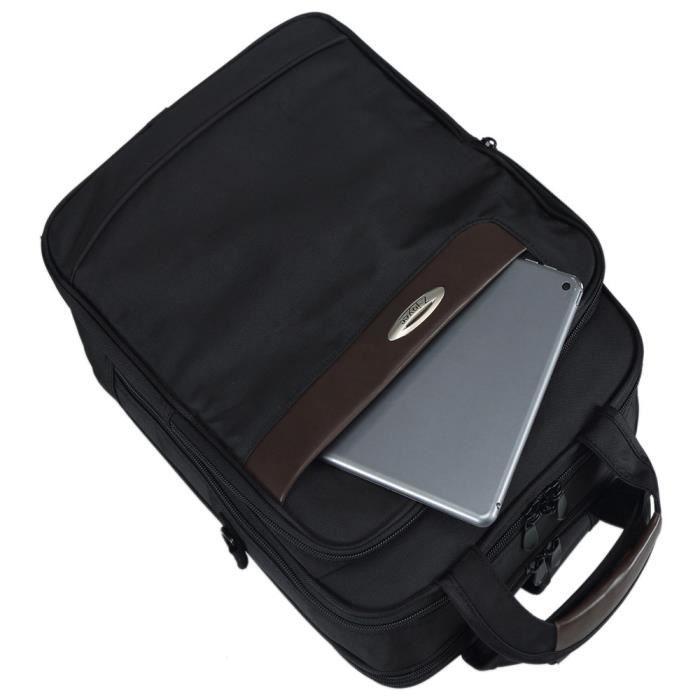 ee0e94bd24 Sac à dos pour homme Sacs Durable Classique Extravagant sac grande taille  Grande capacité personnalité sac business simple noir