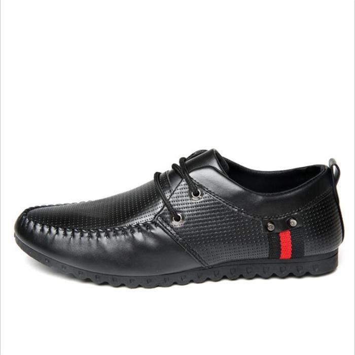 Moccasins Homme Confortable Durable Antidérapant Respirant Chaussures Qualité Supérieure De Marque De Luxe chaussure 2017 cuir Plus bxiUXh8zR