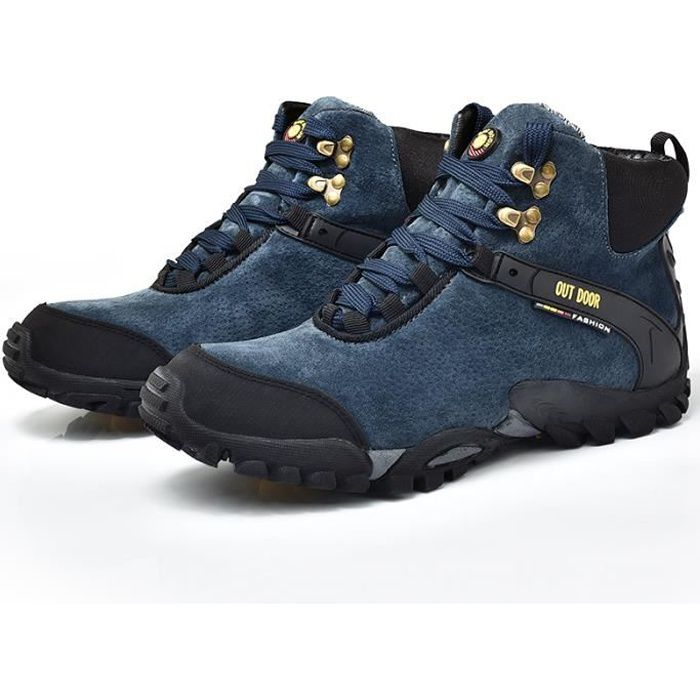 Homme Confort Boots Adventurer Randonnée Marche Bleu Imperméable Maintien Chaussures X8nN0OZwPk