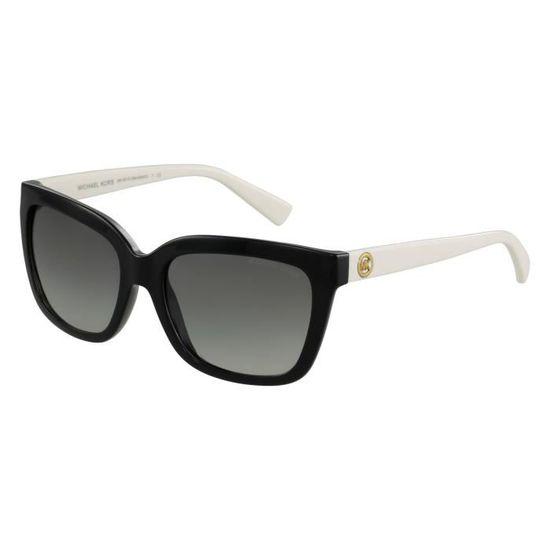 Lunettes de soleil Michael Kors MK6016 Sandestin-305211 Noir - Blanc -  Achat   Vente lunettes de soleil Femme Adulte Noir - Soldes  dès le 9  janvier ! 3d7e77b7b416