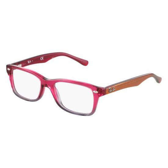 Lunettes de vue Ray Ban RY1531 -3648 Rose transparent - Gris transparent -  Achat   Vente lunettes de vue Lunettes de vue Ray Ban RY. 8c91a648441d