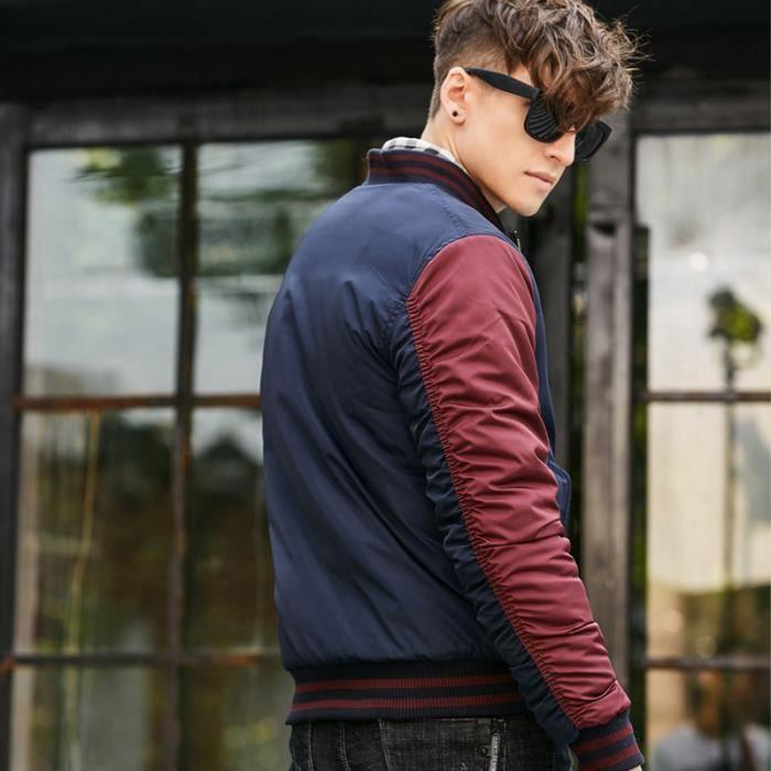 Imprimé Vêtement Hiver Luxe Homme Mode Manteau Marque Rouge Et Epaississant noir De vert Masculin qt0nzwn