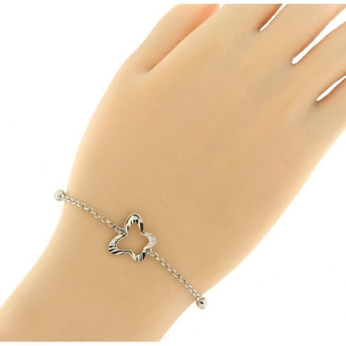 Bracelet Argent 925 ref 44384 Blanc