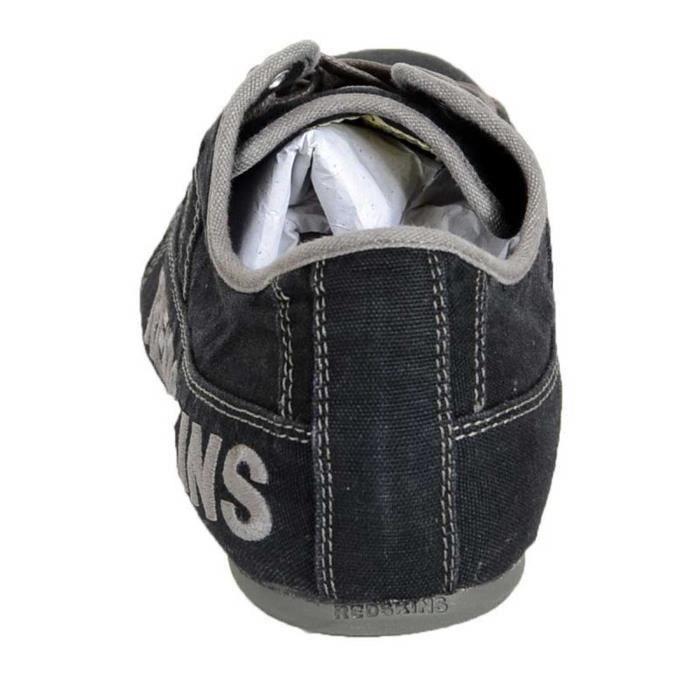 chaussures basket basse redskins tempo noir gun pointure 42 : réf indi