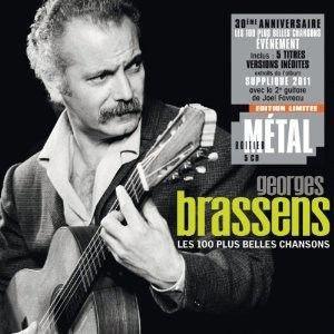 CD VARIÉTÉ FRANÇAISE GEORGES BRASSENS - Les 100 Plus Belles Chansons