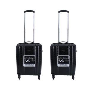 SET DE VALISES Lot de 2 valises cabines  TSA 55 x 35 x 20 cm 4 ro