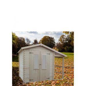 chalet de jardin bois 2x3 achat vente pas cher. Black Bedroom Furniture Sets. Home Design Ideas