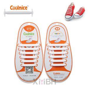 LACET  Lacet Elastique pour Chaussure Unisexe Enfants Bla