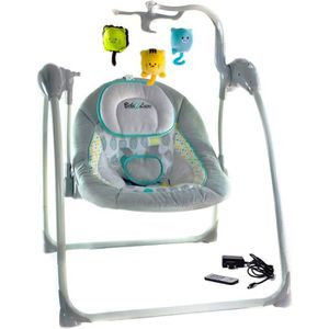 BALANCELLE Balancelle Transat Bébé électrique LILOU 2 - 8 vit