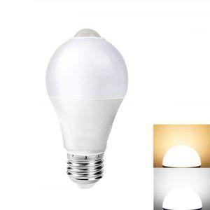 AMPOULE - LED 7W Ampoule led e27 exterieur, LED Ampoule detecteu