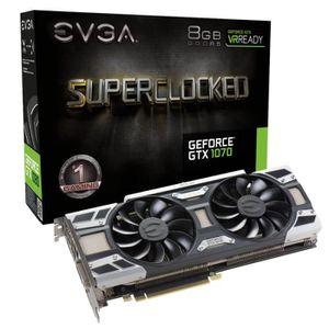 CARTE GRAPHIQUE INTERNE EVGA GeForce GTX 1070 Hybrid Gaming, 8192 MB GDDR5