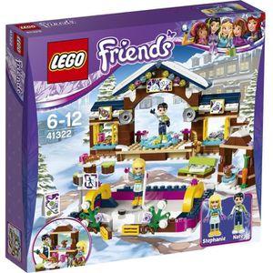 ASSEMBLAGE CONSTRUCTION LEGO® Friends 41322 La Patinoire de la Station de