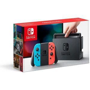 CONSOLE NINTENDO SWITCH Console Nintendo Switch avec Joy-Con - rouge néon/