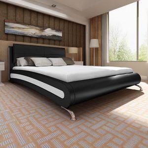 lit complet avec sommier et matelas 180x200 achat vente lit complet avec sommier et matelas. Black Bedroom Furniture Sets. Home Design Ideas