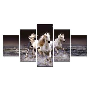 TABLEAU - TOILE 5Pcs Sans Cadre/no framed/Accueil Art décoration m
