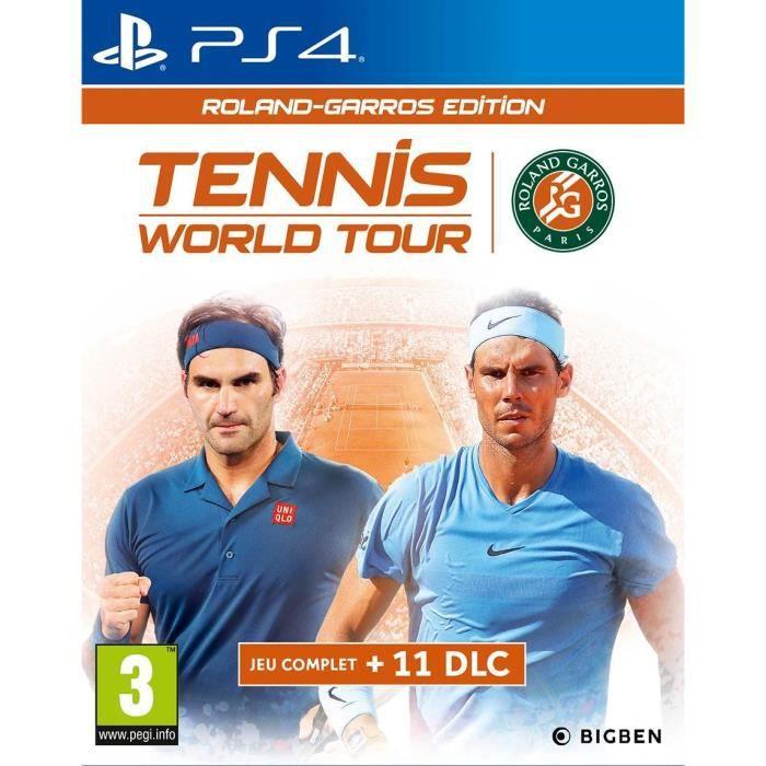 Tennis World Tour Roland Garros Jeu PS4