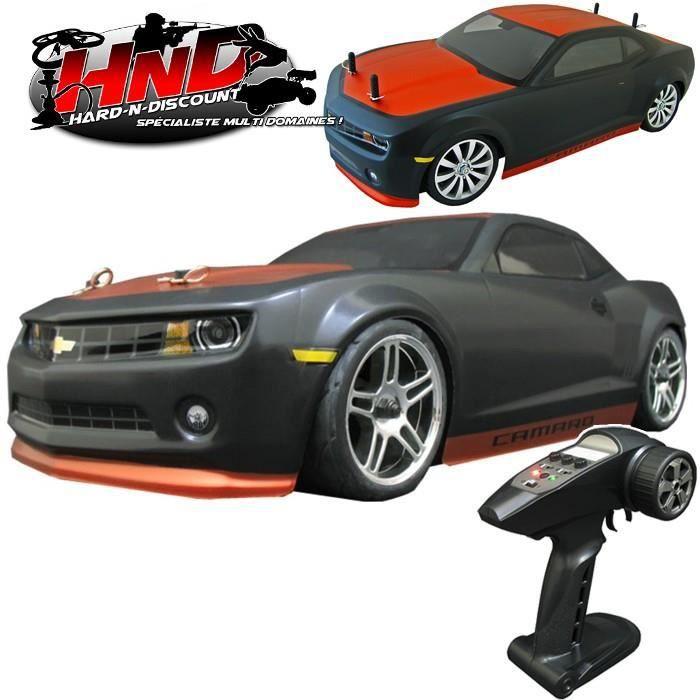 voiture thermique radiocommandée chevrolet camaro 2010 - piste - 4wd