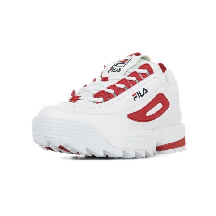352a5dd75fb Baskets Fila Disruptor CB Low Wn s Blanc Blanc