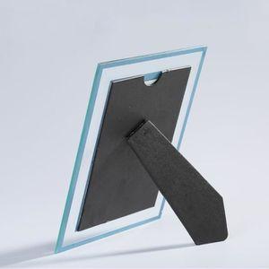 cadre photo transparent en verre achat vente cadre photo transparent en verre pas cher. Black Bedroom Furniture Sets. Home Design Ideas