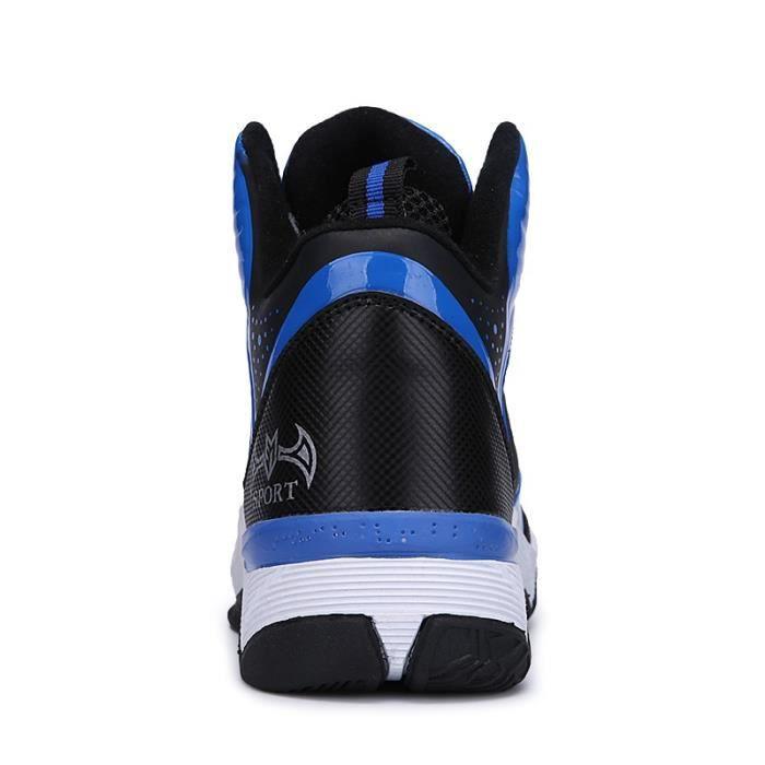 Bottes pour Hommerouge 42 Tendance Mode Nouveau Type de basket-ball Chaussures de sport Bottes_14837 5lKLLk9t24
