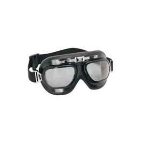 LUNETTES DE SOLEIL Lunettes moto aviateur noir polycarbonate e004238eb0e9