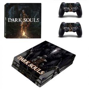 STICKER - SKIN CONSOLE Version YSP4P-2142 - Jeu Dark Souls Ps4 Pro Peau A