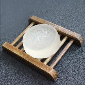 DISTRIBUTEUR DE SAVON Boîte en bois de support de savon de porte en bois
