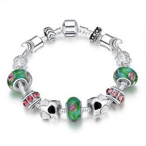MAILLON DE BRACELET Argent Charme Européen Perles Bijoux Bracelets Pou