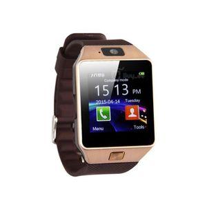 MONTRE CONNECTÉE DZ09 Smartwatch Montre Connectée Téléphone Montre