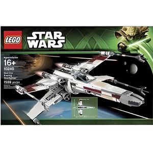 ASSEMBLAGE CONSTRUCTION 10240 X-Wing Starfighter, Lego Star Wars