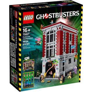 ASSEMBLAGE CONSTRUCTION LEGO® EXPERT 75827 Le QG des Gostbusters, Prestige