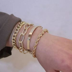 BRACELET - GOURMETTE Bracelet Breloques Style Pandora Argent Cristal Mu
