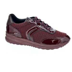DERBY Baskets basses - Geox Airell  Femme  Rouge