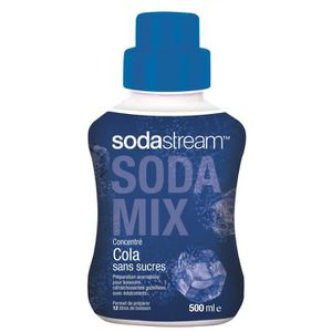 SIROP SODASTREAM 3009323 - Concentré cola sans sucres