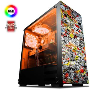 UNITÉ CENTRALE  VIBOX Supernova 11 PC Gamer - AMD 8-Core, Geforce
