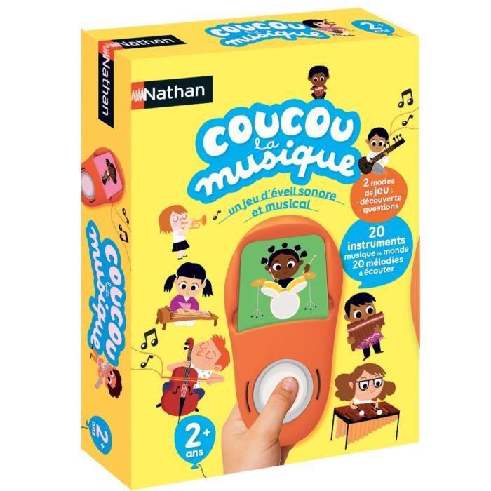 NATHAN Jeux Electroniques - Coucou la Musique