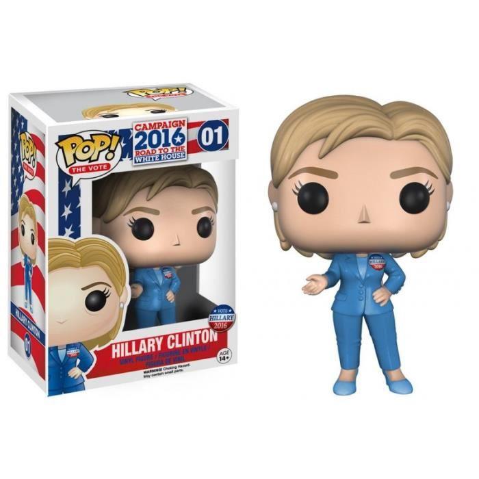Figurine Funko Pop! Campaign 2016 Road to the White House : Hillary Clinton