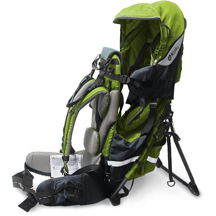 KIDDY Porte-bébé de randonnée Adventure Pack 2017 Vert Lime