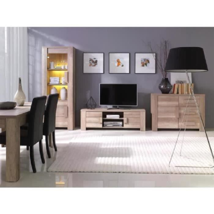 Meuble de salon avec vitrine achat vente meuble de for Vente meuble salon